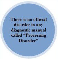 processing disorder text