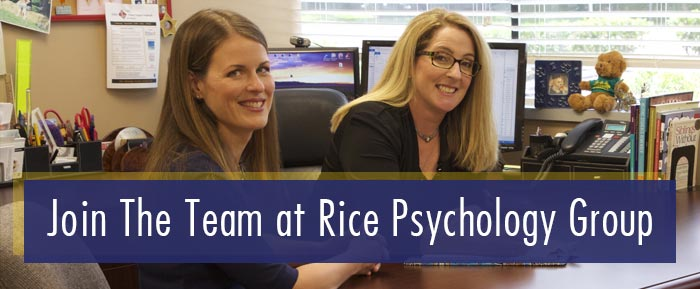 Join the Team at Rice Psychology Group