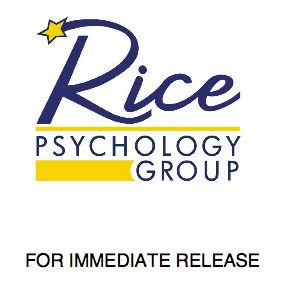 Press Release | Rice Psychology Group in Tampa, FL