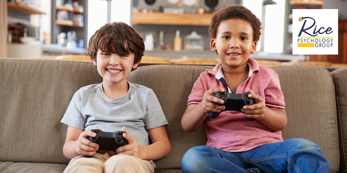 How Video Games Affect Our Kids | Rice Psychology Group in Tampa, FL