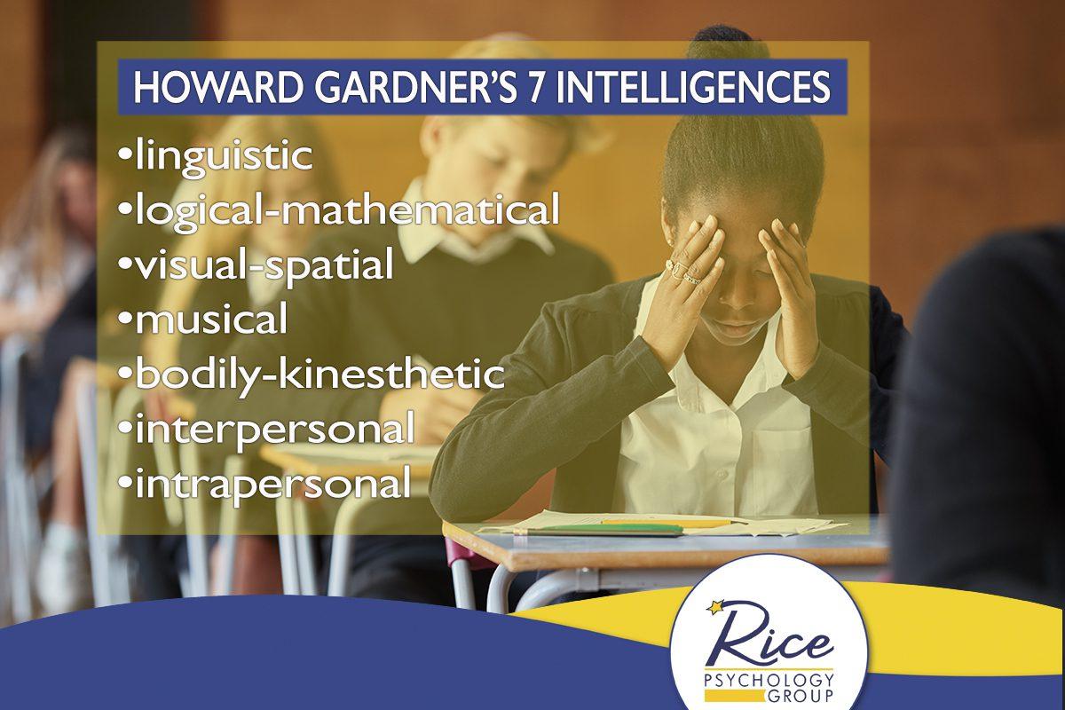 Howard Gardner's 7 Intelligences | Rice Psychology Group in Tampa Fl