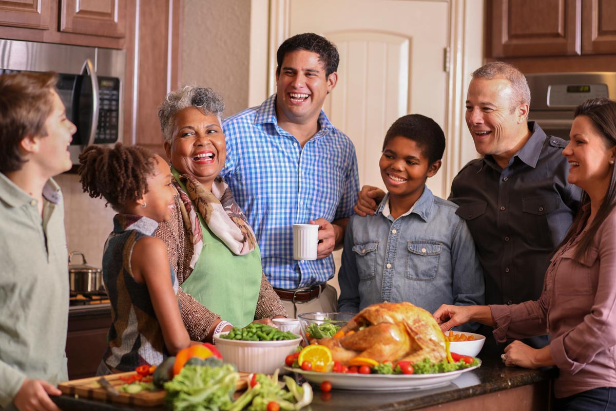 Family on Thanksgiving | Rice Psychology Group in Tampa Fl